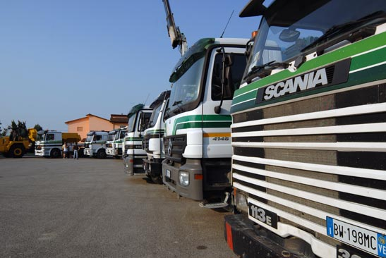 Camion in sede